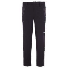 The North Face Exploration - Pantalones de Trekking Hombre - Long negro